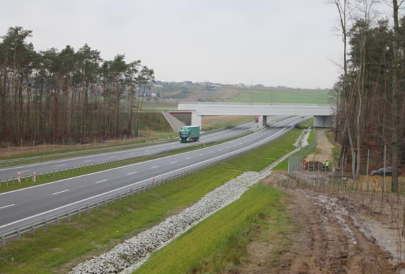 W 2017 r. Wielkopolsce przybyło 45 km dróg ekspresowych