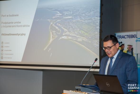 Port Gdańsk podpisał umowy w ramach dotacji unijnych