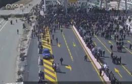 Spalone punkty poboru opłat na autostradzie w Albanii w proteście przeciwko nowym opłatom drogowym