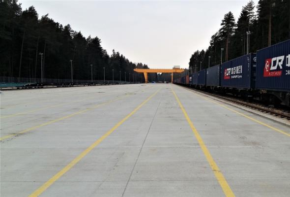 Na Nowym Jedwabnym Szlaku powstał terminal intermodalny