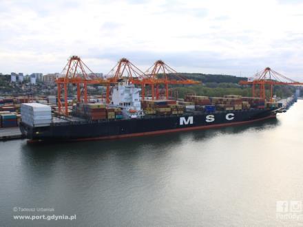 Port Gdynia przyjmuje dużego gościa