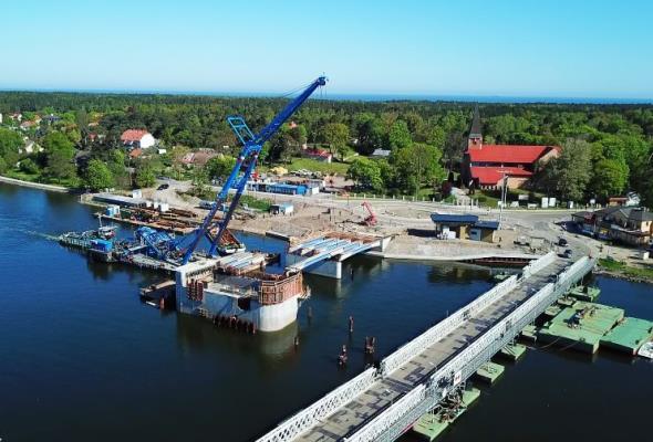 """Most w Sobieszewie będzie """"Mostem Stulecia Niepodległości Polski"""""""