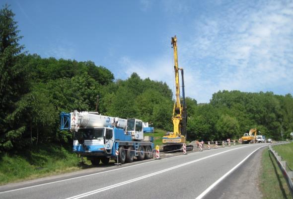 Małopolska: 17-kilometrowa palisada zabezpieczy DK-75