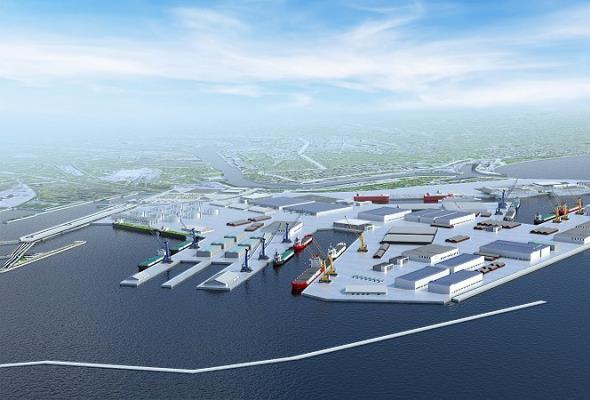 Gróbarczyk: Budując Port Centralny w Gdańsku myślimy o XXII wieku