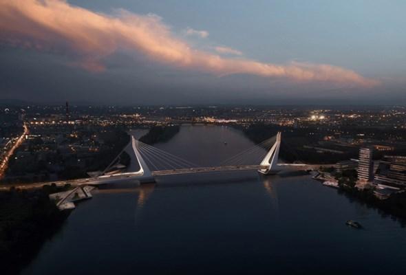 Holenderski projekt nowego mostu w Budapeszcie