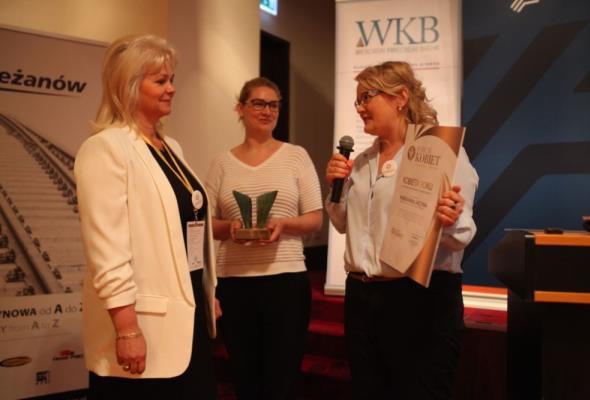 Działania kobiet i na rzecz kobiet w infrastrukturze i transporcie nagrodzone