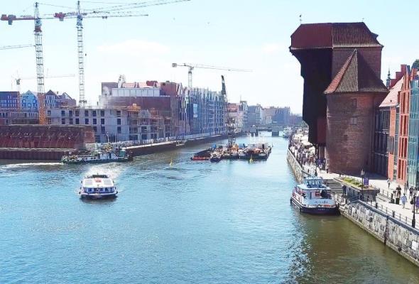 W Gdańsku powstaje obrotowa kładka na Wyspę Spichrzów