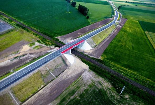 Pomorskie: Nowa droga do Łeby gotowa