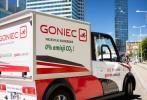 Warszawska firma kurierska Goniec stawia na samochody elektryczne
