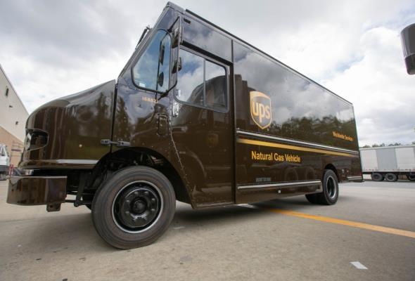 UPS stawia na gaz ziemny