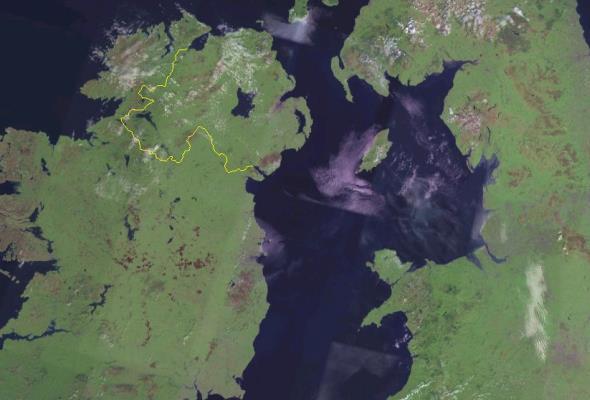 Po Brexicie może powstać połączenie Szkocji z Irlandią Północną