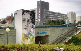 Murale upiększyły metro na Ursynowie