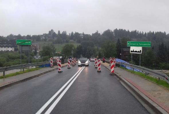Małopolska. Infrastruktura cierpi przez ulewy. Uwaga na DK-49