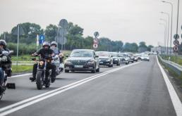 Płock: Kierowcy pojechali nową częścią obwodnicy
