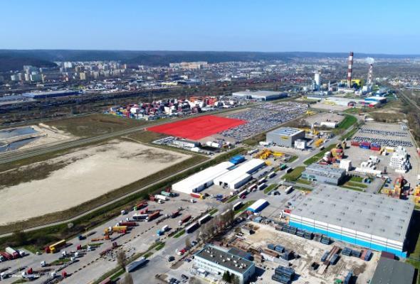 Port Gdynia podpisał umowę na budowę magazynu wysokiego składowania