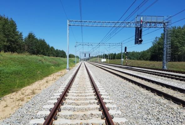 Budimex zakończył przebudowę stacji  Olszamowice. Pociągi pojadą szybciej