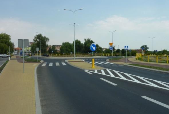 Kujawsko-pomorskie: Nowe rondo na przecięciu DW-554 i 556 otwarte