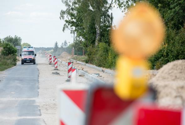 Kujawsko-pomorskie: Trwa modernizacja drogi do autostrady A1