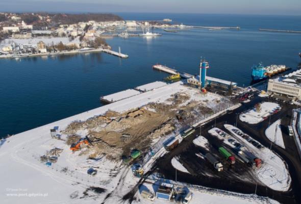 Startuje przetarg na budowę terminala promowego w Porcie Gdynia