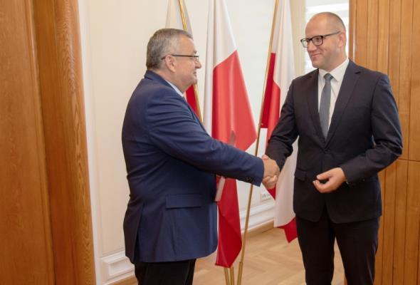 Tomasz Żuchowski p.o. Generalnego Dyrektora Dróg Krajowych i Autostrad