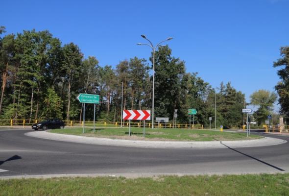 Nowe rondo w Starachowicach gotowe