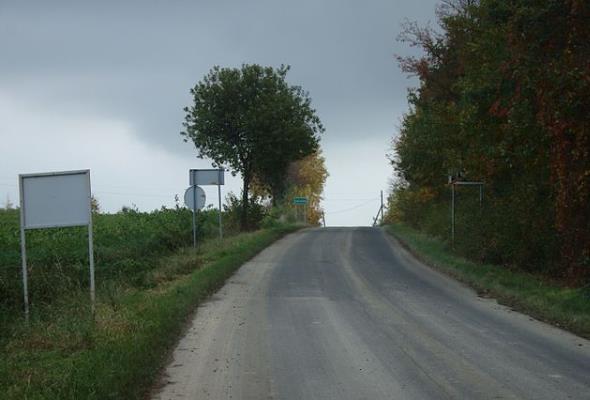 Opolskie. Fragment DW-417 do rozbudowy