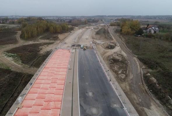Obwodnica Olsztyna przejezdna zimą, a gotowa wiosną