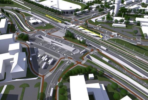 Opole: Umowa na przebudowę skrzyżowania przy Dworcu Wschodnim podpisana