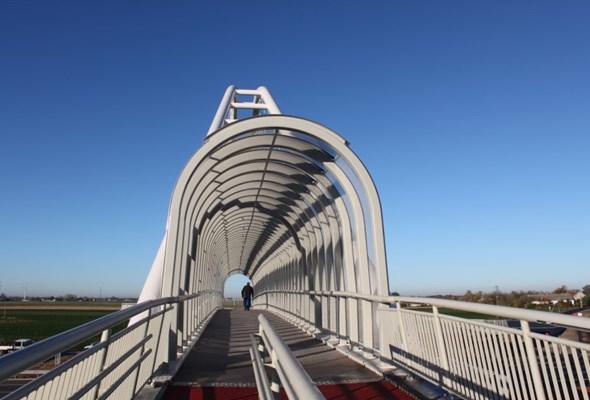 Kładka na A1 w Przywieczerzynie oddana do użytku (zdjęcia)