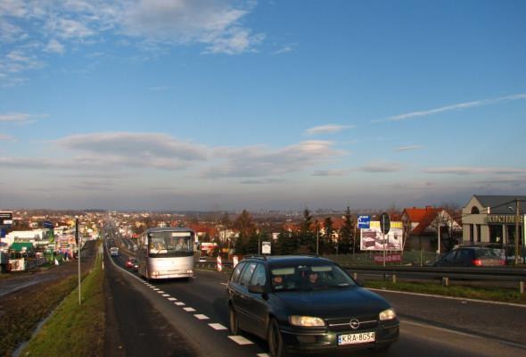 GDDKiA planuje węzeł na DK-7 w Libertowie koło Krakowa