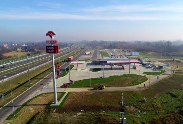 Pierwsza stacja paliw przy podkarpackim odcinku A4 już działa