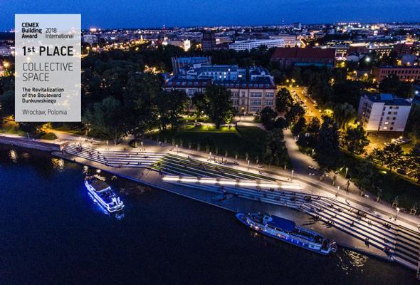 Nagroda CEMEX Building Award trafiła do Wrocławia