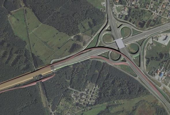 Przebudowa węzła Bydgoszcz Błonie z decyzją środowiskową