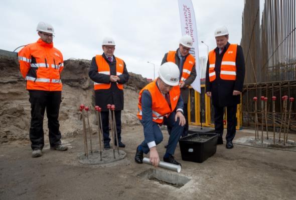 Port Gdańsk przebudowuje swój układ drogowo-kolejowy