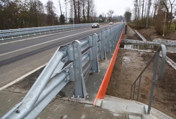 Opolskie. Nowy most  w ciągu DW-405 otwarty