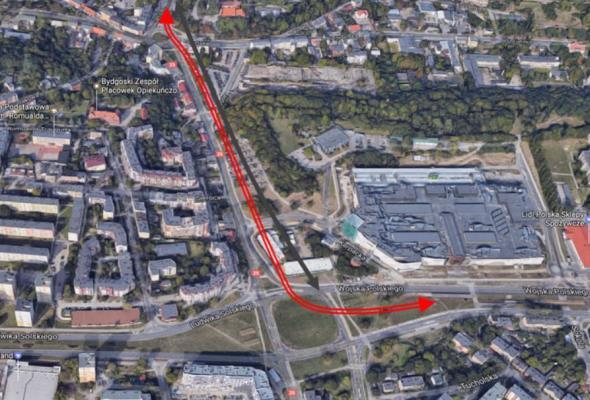 Bydgoszcz: Rusza rozbudowa ul. Kujawskiej