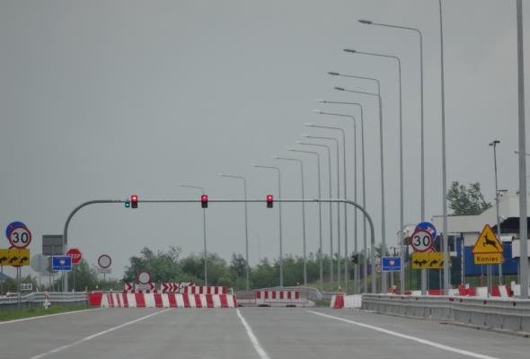 Ruszył System Buforowania Pojazdów Ciężarowych przed przejściem granicznym w Korczowej