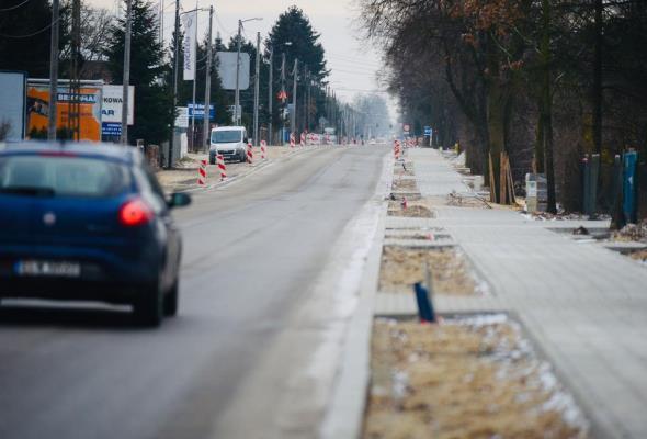 Łódź: Zakończył się pierwszy etap prac na ulicy Rokicińskiej
