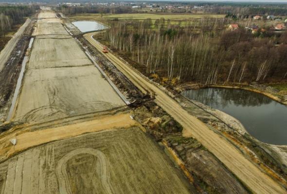 Cała A2 na wschód od Warszawy w realizacji lub projektowaniu