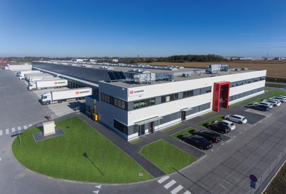 Nowy terminal DB Schenker pod Wrocławiem – większe możliwości dla klientów