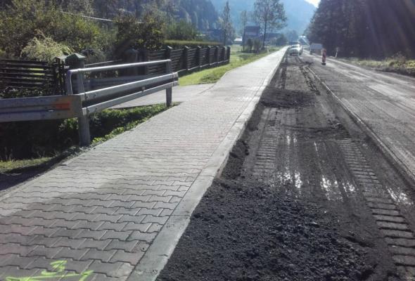 Małopolskie:  Poprawi się DW-969 w Krościenku nad Dunajcem