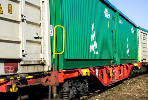 Koleje Ukraińskie podsumowują rok intermodalnych transportów Kijów – Odessa