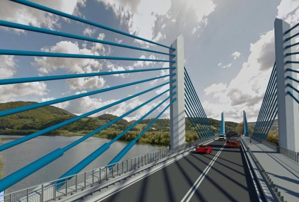 Małopolskie: Startuje budowa nowego mostu na Dunajcu w Kurowie
