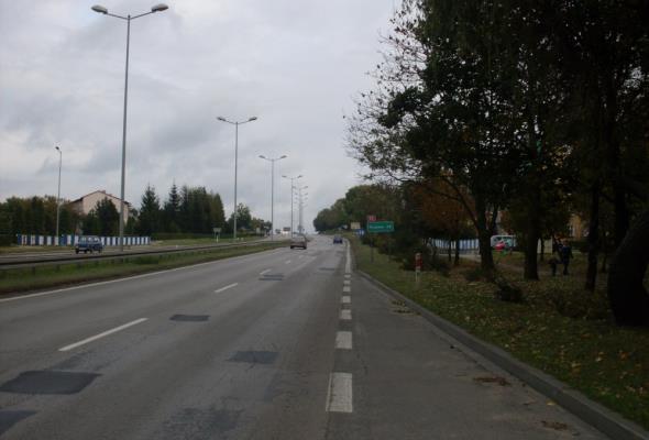 """Drogo za rozbudowę """"starej czwórki"""" w Olkuszu"""