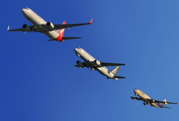 Ruch lotniczy nad Europą coraz większy. Problemem są opóźnione loty