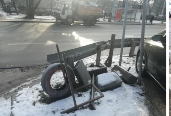 Warszawa. Nielegalne reklamy w pasie drogowym usunięte
