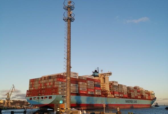 Nowatorskie światła sektorowe w Porcie Gdynia