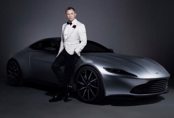 James Bond w nowym filmie wsiądzie do elektrycznego Astona Martina