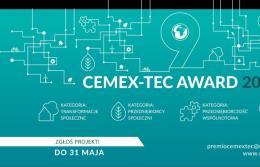 CEMEX ogłasza nabór projektów społecznych w konkursie CEMEX-TEC Award 2019