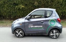 Samochody elektryczne z Chin na ulicach Krakowa
